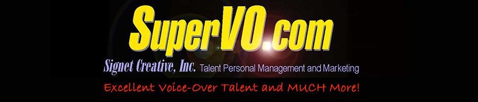 Voice Over Talent | Voice Over Actors | SuperVO | 800 636-1595
